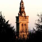 clocher e l'église Saint Paul de Viarmes