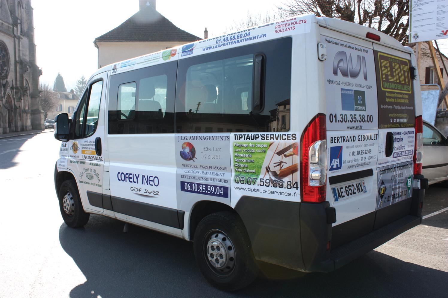 Minibus de Viarmes