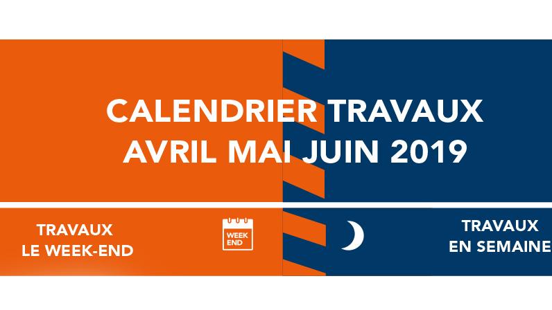 Calendrier Avril Mai Juin 2019.Ligne H Calendrier Des Travaux Avril Mai Juin 2019 Viarmes